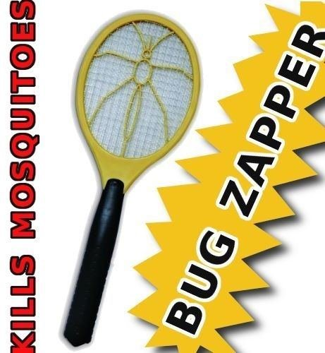 Handheld Bug Zapper - Battery Powered to Instantly Swat Bugs Keep Them Away