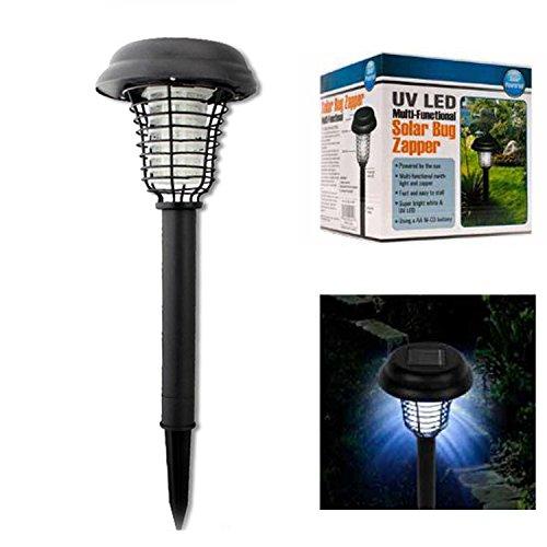 Banwen Solar Led Path Lights Mosquito Repeller Uv Bug Zapper Solar Lights
