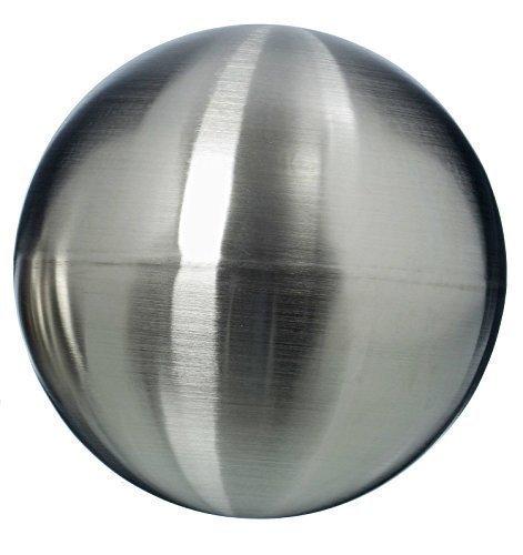 Immo Ingenious Garden Gazing Ball galaxy - Matt Stainless Steel Silver Floating Ball - Metal Decorative Ball