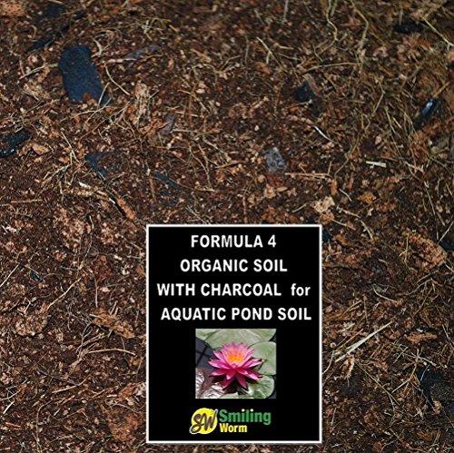 Aquatic pond soil Water lily soil Pond marginals soil Organic potting soil  Charcoal Blended to order 35 Quarts