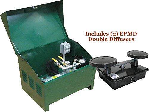 EasyPro Sentinel 14 HP Rotary Vane Pond Aeration System Aerates UpTo 2 Acres