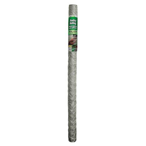 Gamp B 308466b 48-inch By 25-foot 2-inch Mesh Hexagonal Poultry Netting