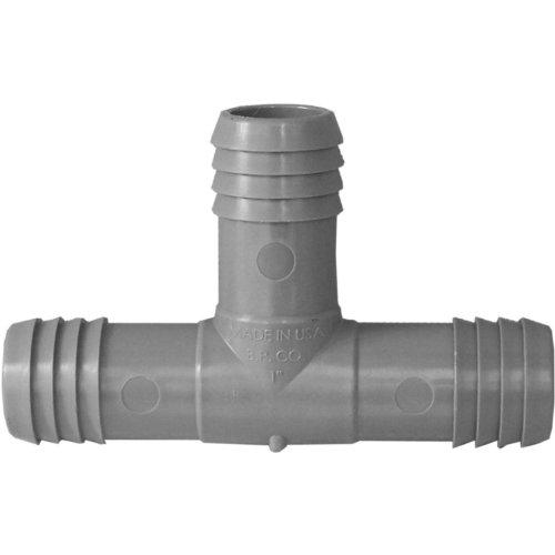 Genova Products C351410 1-inch Plumbingirrigation Poly Insert Pipe Tee - 10 Pack