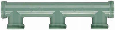 Orbit Irrigation Products 57183 Drip Irrigation Manifold 3-Port - Quantity 1