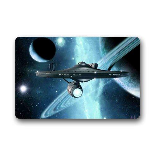 Star Trek Custom Outdoor Indoor Doormat Personalized Design Machine-wahable Neoprene Rubber Doormat 236x157