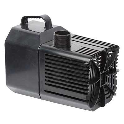 Beckett Waterfall Pump with Auto-Shutoff 1250 gph with FREE Green Vista Protective Pump Bag 3000 Value