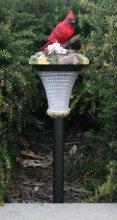 Outdoor Garden Decor Bird Solar Landscape Light LED
