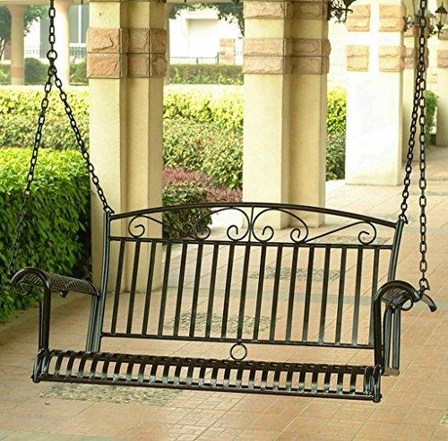 Eco-FriendlyWater ResistantWeather Resistant Tropico Iron Porch Swing Hammock Dimensions 24Hx46Wx22D
