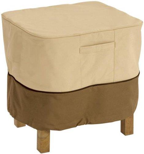 Classic Accessories 70972 Veranda Square Patio Ottomanside Table Cover Small
