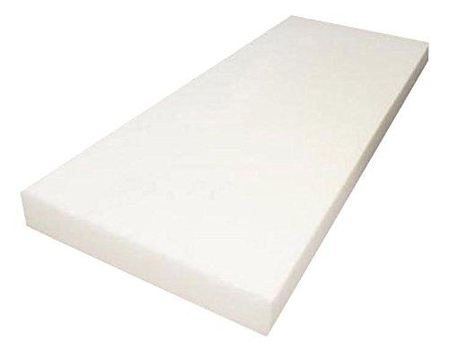 Mybecca 2&quot X 24&quotx 72&quotupholstery Foam Cushion Regular Density seat Replacement  Upholstery Sheet  Foam Padding