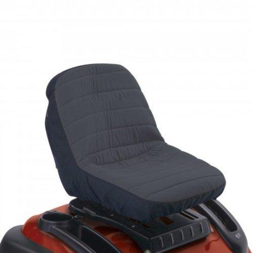 Classic Accessories 12324 Deluxe Riding Lawn Mower Seat Cover Medium