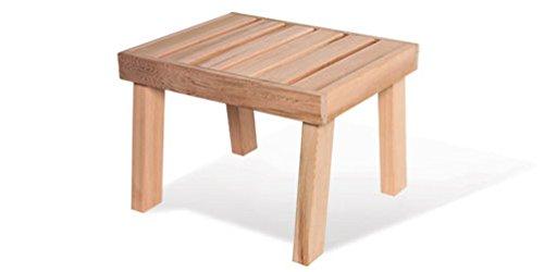 Cedar Sauna Bench 21W x 17D x 1575H