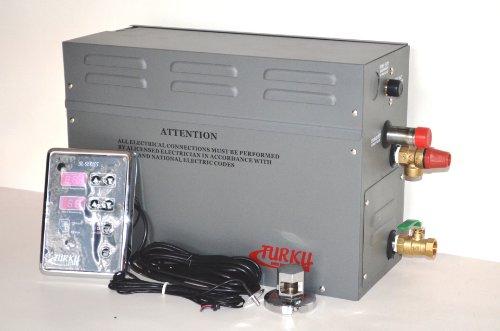 Full Set Residential Turku 9kw 240v Home Spa Sauna Steam Shower Bath Generator With Sl-series Outer Digital Controller