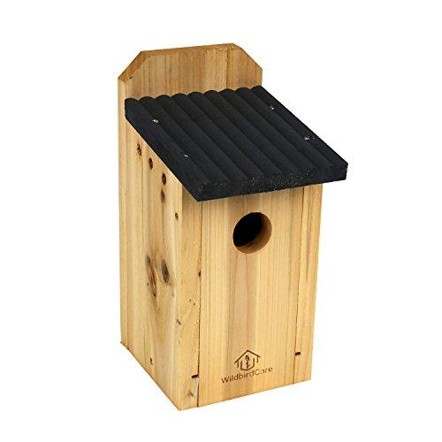 Wildbird Care Bluebird Box Cedar Bird House Bch2a Natural