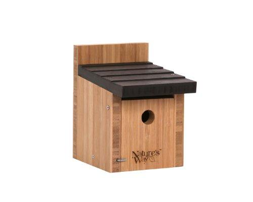 Natures Way Bird Products BWH2 Bamboo Wren Box Bird House