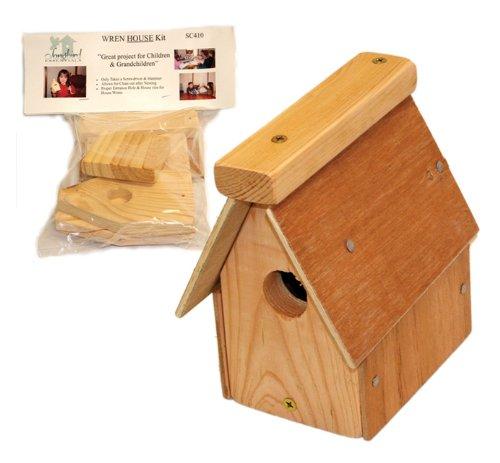 Songbird Essentials Cedar Wren Bird House Kit