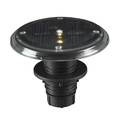 Seriously Solar LED Deck Lighting set of 5 - Black