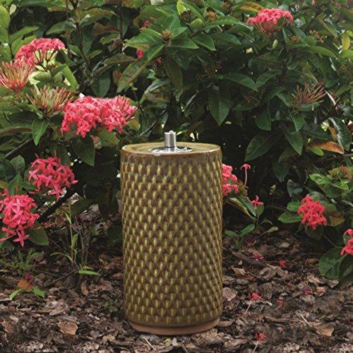 Smart Garden Apollo Ceramic Garden Torch 13-Inch H Sierra Garden 215088-13SG