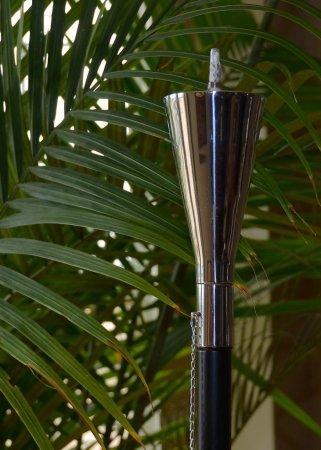 Starlite Garden and Patio Torche Garden Torch Decor Polished Tuxedo