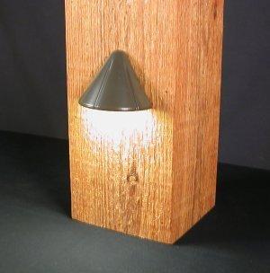 Aurora Deck Lighting Vega 12v Deck Post Surface Light 1w Led Bronze