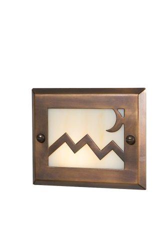 Highpoint Deck Lighting Hp-744r-mbr Pikes Peak 12-volt Recessed Outdoor Deck And Step Light Fixture Antique Bronze