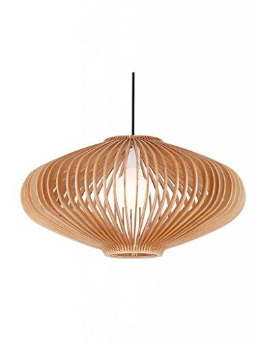 Parrot Uncle Handmade Wood Lighting Plywood Lantern Shape Hanging Pendant Lights For Dinning Room