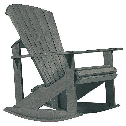 CR Plastic Generations Recycled Plastic Adirondack Rocking Chair