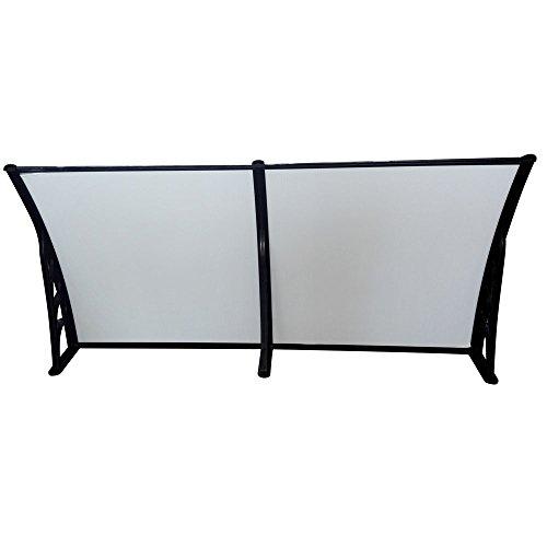 FCH 40x 80 Outdoor Patio Awning Cover Door Windows Gardenning UV Sun shetter Canopy Black