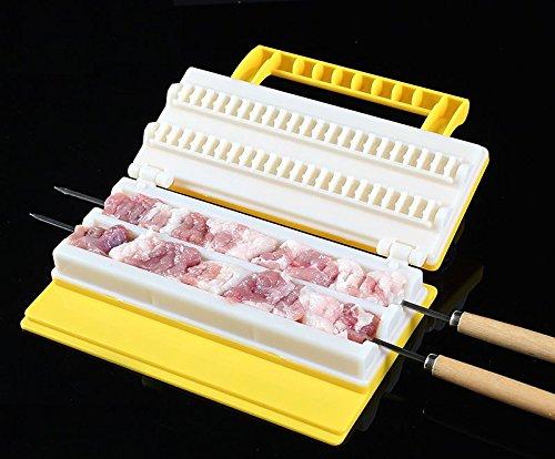 Astra Gourmet Innovative Quick Meat Shashlik Maker Skewer Grill Utensils BBQ Grill Tools Accessory
