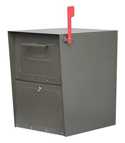 Architectural Mailboxes Oasis Mailbox Graphite Bronze