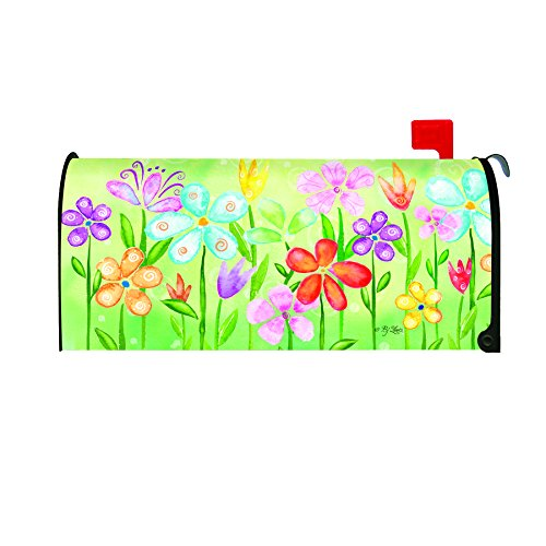 Toland Home Garden Spring Blooms Decorative Mailbox Cover