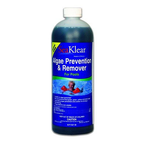 Seaklear 90 Day Pool Algae Preventer And Remover - 1 Quart