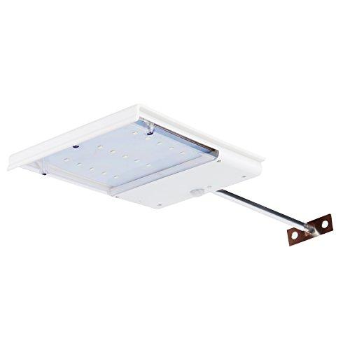 15 Led Motion Sensor Solar Light Viare Waterproof Solar Powered Gutter Wall Path Light Sconces Security Lighting
