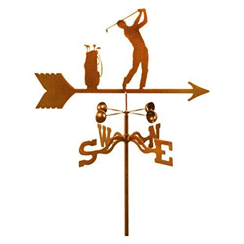 EZ Vane Male Golfer Weathervane