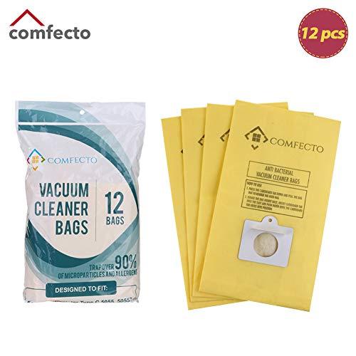 Comfecto Set of 12 Premium Vacuum Bags for Kenmore Canister Type C Panasonic Type C5 50558 50557 5055
