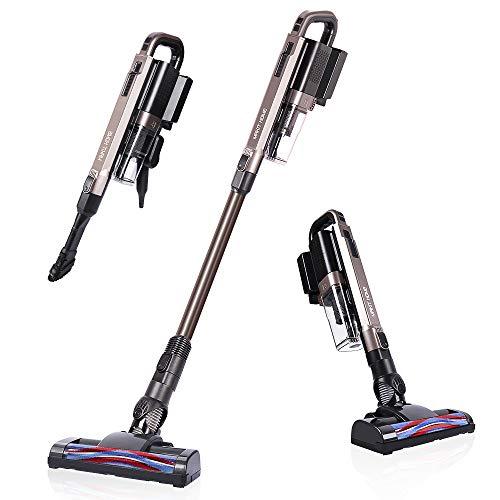 Cordless Vacuum Cleaner 21 KPa Super Suction Lightweight Handheld Stick Vacuum Cleaner Brushless Motor for Hard Floor Pet Hair Only 1 Battery