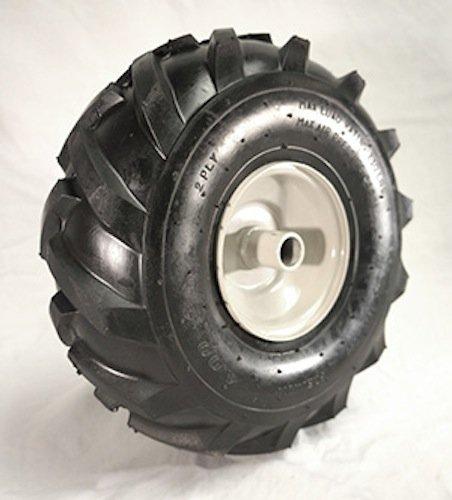 11 x 400 X 4 Tractor Tread Tire Rim - Craftsman Troy-Bilt Tiller Replacement Wheel