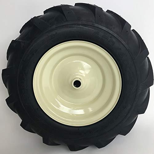 LMTS 480x400-8 Tractor Tread Tire Rim - Cub Cadet Troy-Bilt Tiller Replacement Wheel