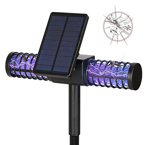 Mosquito Killer Lamphomecube Solar Led Bug Zapper Lightinsect Killer Fly Zapper With Usb Charge Port Whole
