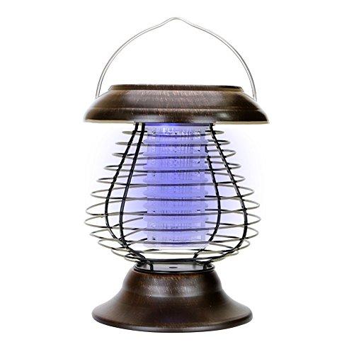 Acrato Bug Zapper Mosquito Lamp Solar Led Mosquito Killer Lamp Pest Control Outdoor Indoor Mosquito Repellent