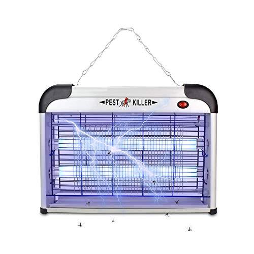 Electric Bug ZapperPest Repeller Control-Strongest Indoor 2800 Volt UV Lamp Flying Fly Insect Killer Mosquitoes Flies Killer Repellent Traps Eliminator Catcher Lure Zap Kills Mosquito