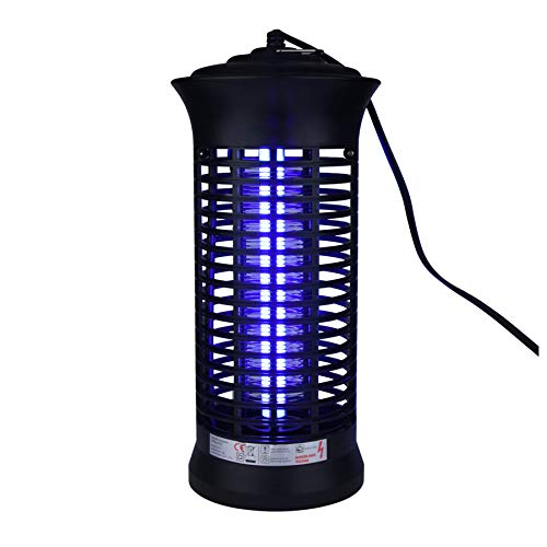 Naiflowers Electronic Mosquito Bug Zapper LED Socket Electric Lamp LED Indoor Smart Mosquito Insect Light Killer Fly Trap Bug Lamp Repellent Fly Zapper Non-Toxic No Radiation Pest Control