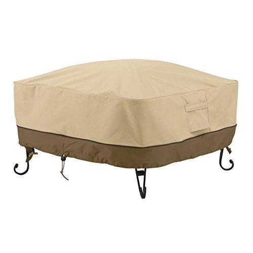 Classic Accessories 55-490-011501-00 Veranda Square Fire Pittable Cover 30-inch