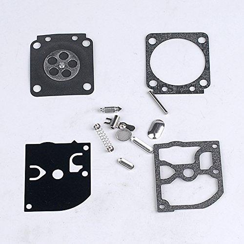 Carburetor Reair Kit Gasket Diaphragm RB-84 for ZAMA C1Q-S63 C1Q-S66 fits STIHL String Trimmer FS45 FS46 FS75 FS80 FS85 HT70 HT75 Pole Pruner