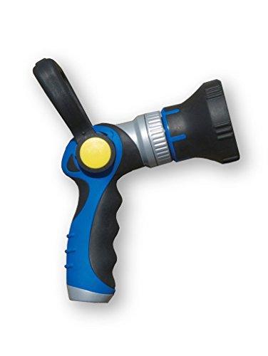 HoseCoil Adjustable Spray Pattern Power Lever Hose Nozzle