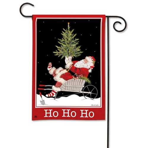 Breezeart Ho Ho Ho Garden Flag 39235