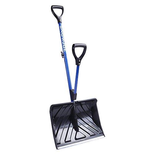 Snow Joe Shovelution SJ-SHLV01 Back-Saving Snow Shovel