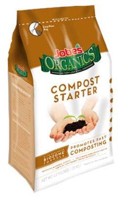 Jobes Easy Gardener 09926 4 LB 4-4-2 Organic Compost Starter Granular Fertilizer - Quantity 3