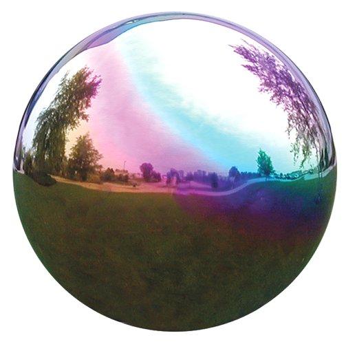 Vcs Rnb10 Mirror Ball 10-inch Rainbow Stainless Steel Gazing Globe