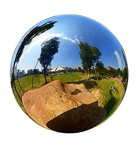 Gazing Globe Ball - 12 Sizes Stainless Steel Mirror Ball Gazing Shiny Ball Gazing Balls for Gardens Decoration 20inch